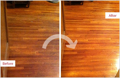 Sir Grout Westchester Sandless Wood Refinishing
