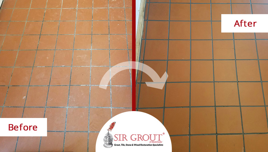 What A Transformation See What A Tile Cleaning Service Did For This