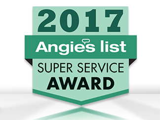 Angie's List 2017 Super Service Award for Sir Grout Westchester County